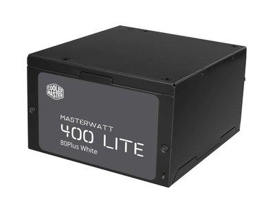 Cooler Master MasterWatt Lite power supply unit 400 W ATX Zwart