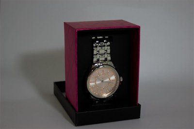 Di Lusso dames horloge - Zilver/rosé