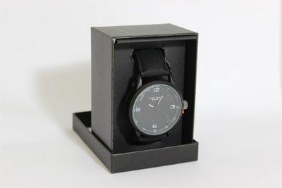 Enzo Tempo heren horloge - Zwart
