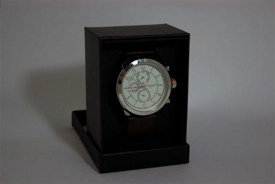 Enzo Tempo heren horloge - Bruin
