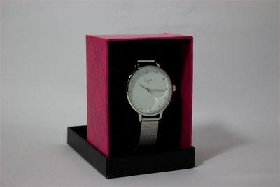 Di Lusso dames horloge - Zilver/wit