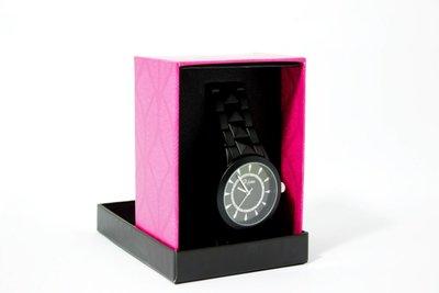 Di Lusso dames horloge - Zwart