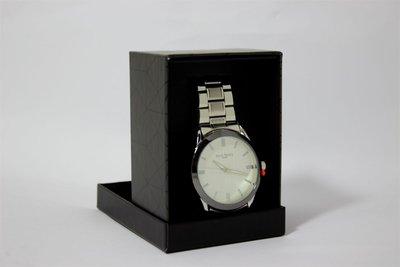Enzo Tempo heren horloge - Zilver/wit