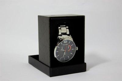 Enzo Tempo heren horloge - Zilver/grijs