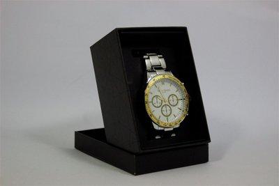 Enzo Tempo heren horloge - Zilver/goud