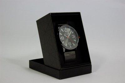 Enzo Tempo heren horloge - Zwart/grijs
