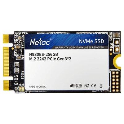 SSD Netac 256GB NVME M.2 2280 ( 2000MB/s Read 1200MB/s )