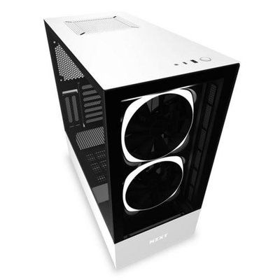 Case NZXT H510 Elite Zwart Wit / Glass window