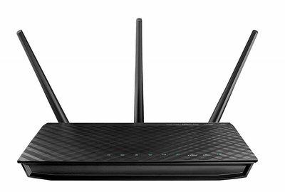 ASUS RT-AC66U Dual-band (2.4 GHz / 5 GHz) Gigabit Ethernet draadloze router