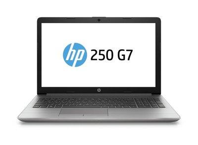 HP 250 G7 15.6 F-HD / I3-7020U / 8GB / 256GB  / DVD / W10