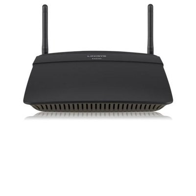 Linksys EA6100 draadloze router Dual-band (2.4 GHz / 5 GHz) Fast Ethernet Zwart