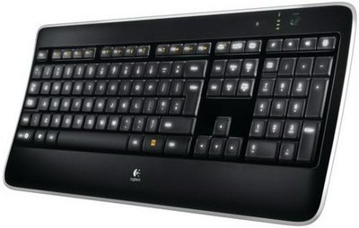 Logitech Wireless Illuminated K800 Keyboard US Layout RFG