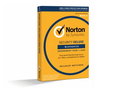 Symantec Norton Security Deluxe 1 User 10 Devices OEM