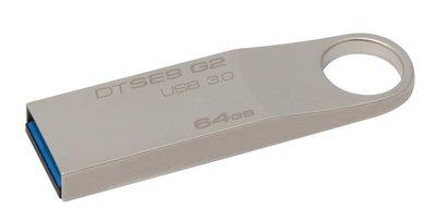 Kingston Technology DataTraveler SE9 G2 64GB USB flash drive USB Type-A 3.2 Gen 1 (3.1 Gen 1) Zilver