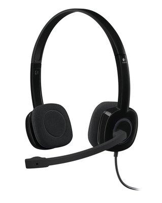 Logitech H151 Stereo Headset voor meerdere apparaten met bediening op de draad