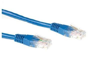 Ewent 0.5m Cat6 UTP netwerkkabel Blauw 0,5 m U/UTP (UTP)