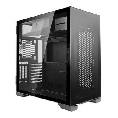 Case Antec P120 Crystal Midi Tower Glass Steel Black