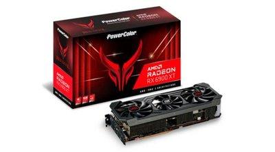 PowerColor Red Devil AXRX 6900XT 16GBD6-3DHE/OC videokaart AMD Radeon RX 6900 XT 16 GB GDDR6