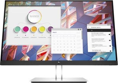 """HP E-Series E24 G4 60,5 cm (23.8"""") 1920 x 1080 Pixels Full HD LCD Zwart, Zilver"""