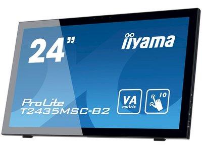 """Iiyama T2435MSC-B2 Zwart 24"""" Touch"""
