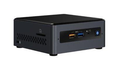 Intel NUC NUC7CJYHN UCFF Zwart J4005 2 GHz