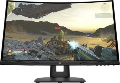 MON HP 24 Inch X24c Gaming Curved 144Hz, 4ms, HDMI H-VERST