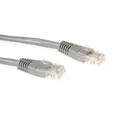 Ewent 5m UTP Cat5e CCA 5m Grijs netwerkkabel