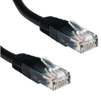 Ewent 0.5m Cat5e UTP 0.5m Cat5e U/UTP (UTP) Zwart netwerkkabel