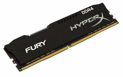 HyperX FURY Memory Black 4GB DDR4 2133MHz geheugenmodule