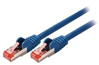 S/FTP CAT6 RJ45netwerkkabel 3,00 m blauw