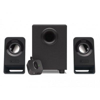 Logitech Z211 2.1kanalen Zwart luidspreker set
