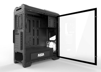 Case Azza Thor 320 MidTower / Glass/ ATX Black