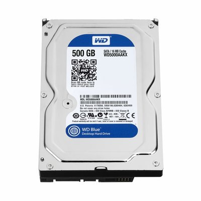 HDD WD Blue™ 500GB - 7200RPM - 3.5 - 16MB - SATA Pulled