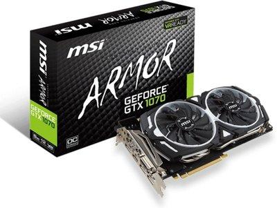 MSI V330-003R videokaart GeForce GTX 1070 8 GB GDDR5