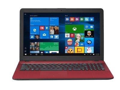 Asus X541UA RED / 15.6 /  i3-7100U / 256GB SSD / 4GB DDR4 / W10