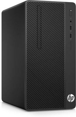 HP 290 G1 Desk / i3-7100 / 8GB / 500GB+256GB SSD / DVD / W10