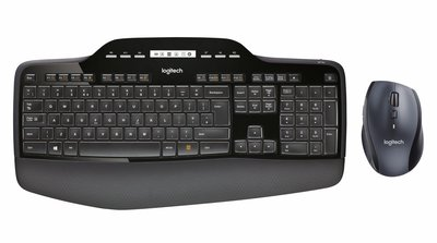 Logitech MK710 toetsenbord RF Wireless QWERTY US International Zwart