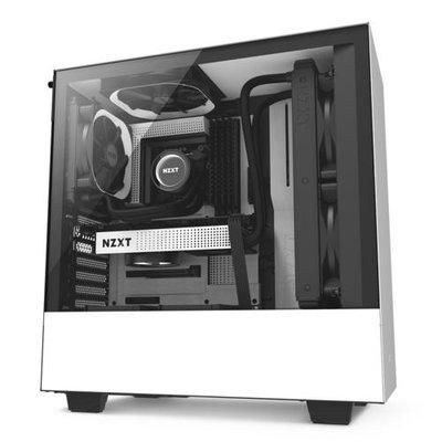 NZXT H500 computerbehuizing Midi-Toren Wit
