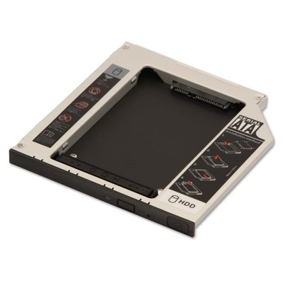 """Bracket Caddy for optical drive slot for 2.5"""" sata hdd"""