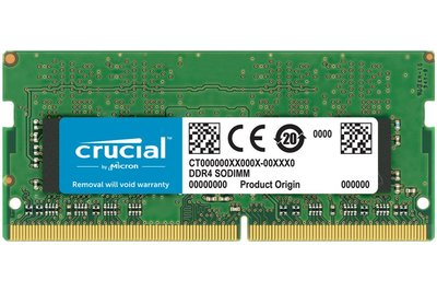 Crucial 16GB DDR4 geheugenmodule 2400 MHz