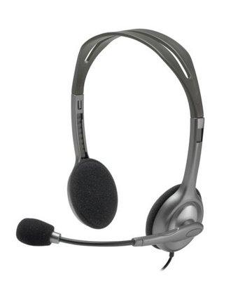 Logitech H111 Stereofonisch Hoofdband Grijs