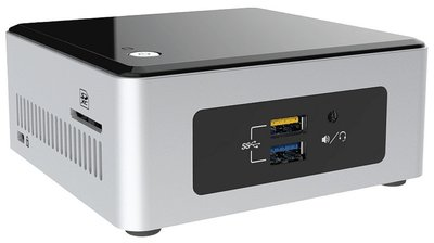 Intel NUC NUC5CPYH BGA 1170 1,6 GHz N3050 UCFF Zwart, Zilver