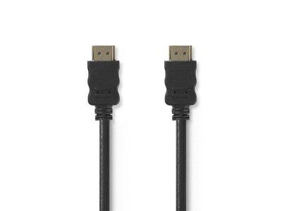 Kabel HighSpeed HDMI-kabel met ethernet HDMIconnector 1,50M