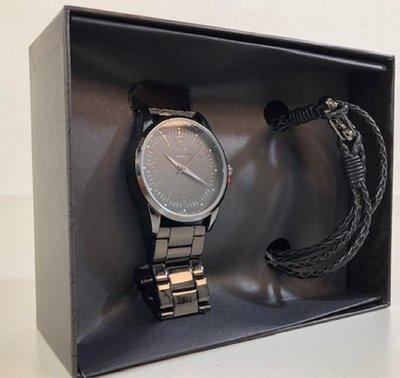 Enzo Tempo Milano heren horloge + armband set