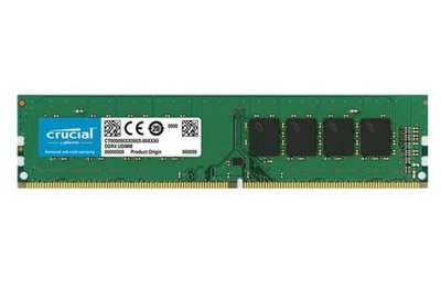 Crucial CT4G4DFS624A geheugenmodule 4 GB DDR4 2400 MHz